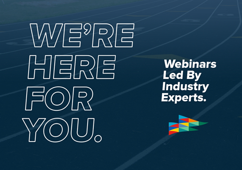 A WEEKLY WEBINAR SERIES FOR OUR MEMBERS - Week of March 30, 2020
