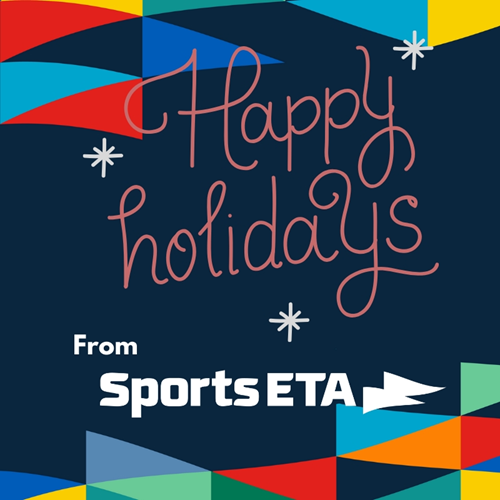 Happy Holidays from Sports ETA